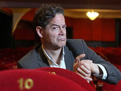 El actor Jorge Sanz, en el Teatro Cofidis Alcazar.