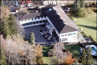 La residencia de Haakon de Noruega y la princesa Mette Marit en Asker, Skaugum, a 20 kilómetros de Oslo.