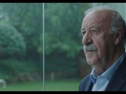 Vicente del Bosque, en una imagen del documental 'Los secretos de la Roja - Campeones del Mundo'.