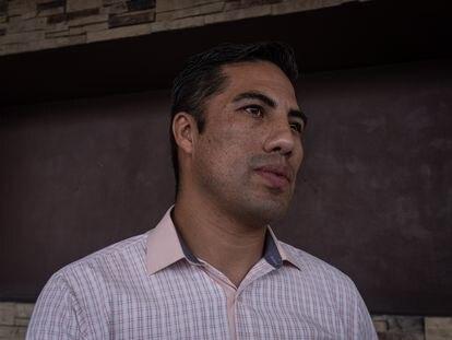 Rodrigo García, conductor del metro que se accidentó el 3 de mayo en Tláhuac, Ciudad de México.