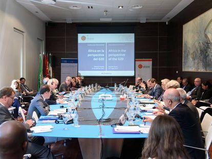 África y sus perspectivas fueron el motivo de la conferencia internacional organizada por el Real Instituto Elcano en Madrid.