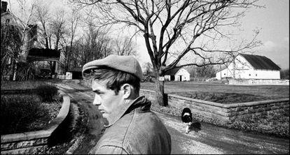 Una de las fotografías de James Dean tomada por Dennis Stock.