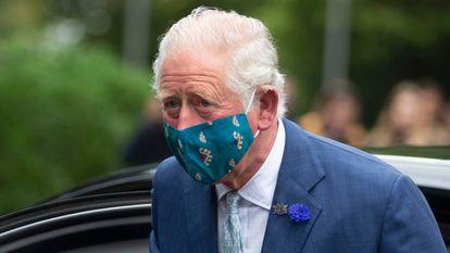 El príncipe Carlos recientemente durante una visita a Belfast.