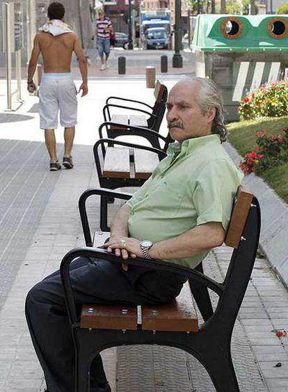 Modesto Fernández, ayer en Bilbao.