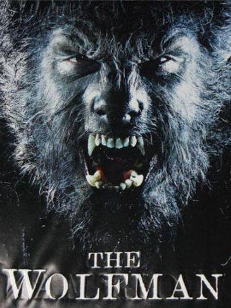 Cartel de la película 'El hombre lobo' (2009).