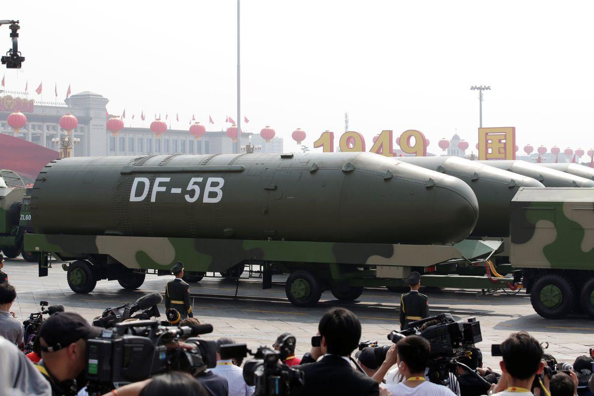 EE UU alerta del incremento del arsenal nuclear chino por un informe sobre la construcción de nuevos silos