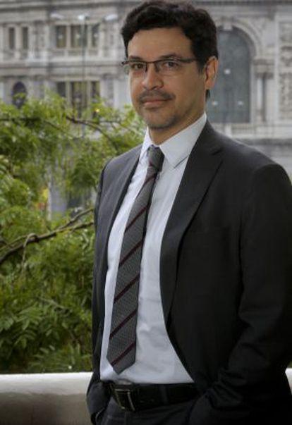 Elkin Velásquez, director de ONU-Hábitat para América Latina y El Caribe, durante su visita a Madrid.