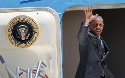 El presidente Barack Obama realiza un viaje a Texas