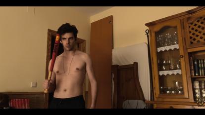 El actor Álvaro Rico, en 'Relatos con-fin-a-dos'.