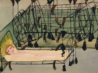 'Appassionata', acuarela de Rama pintada en 1940.