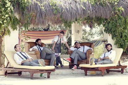 Los cinco hermanos de 'La gran familia española'.