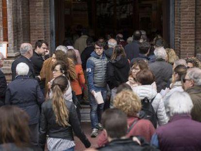 La afluencia a las urnas aumenta sobre todo en las zonas más independentistas