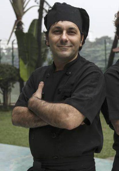 El chef argentino Rossini, el pasado diciembre.