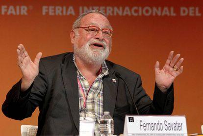 El escritor español Fernando Savater.