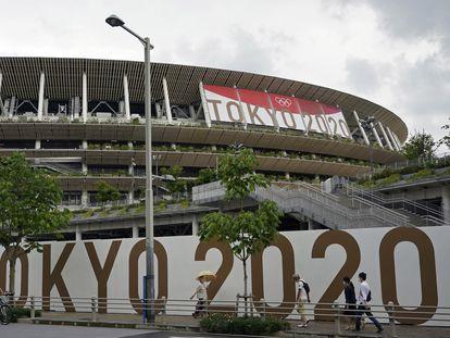 El Estadio Nacional de Tokio.