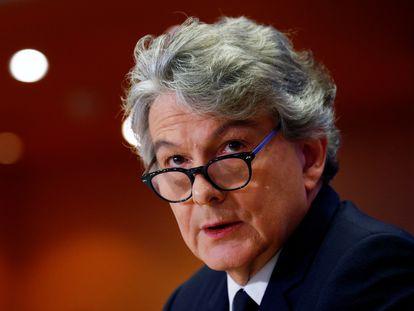El comisario de Mercado Interior, Thierry Breton.