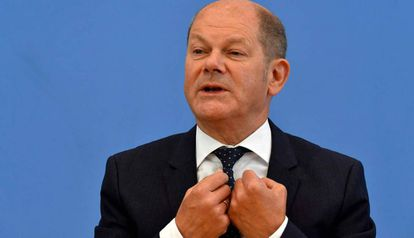 El ministro alemán de Finanzas, Olaf Scholz.