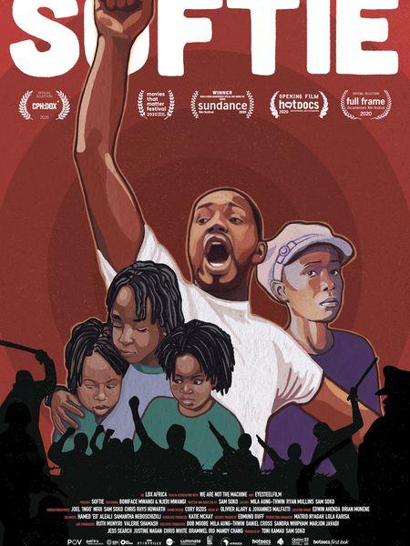 Poster de la película 'Softie'.