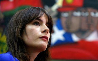 La diputada electa del Partido Comunista de Chile Camila Vallejo.