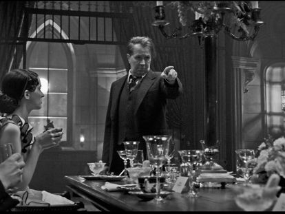 El actor Gary Oldman, en 'Mank'.