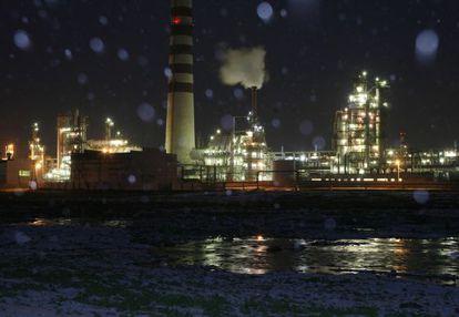 Refinería de Rosneft en la localidad rusa de Achinsk