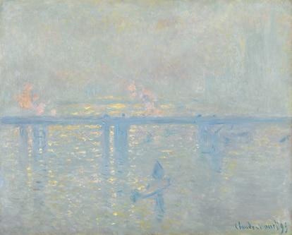 'El puente de Charing Cross' (1899), de Monet, que se exponía en el Museo Thyssen de Madrid.