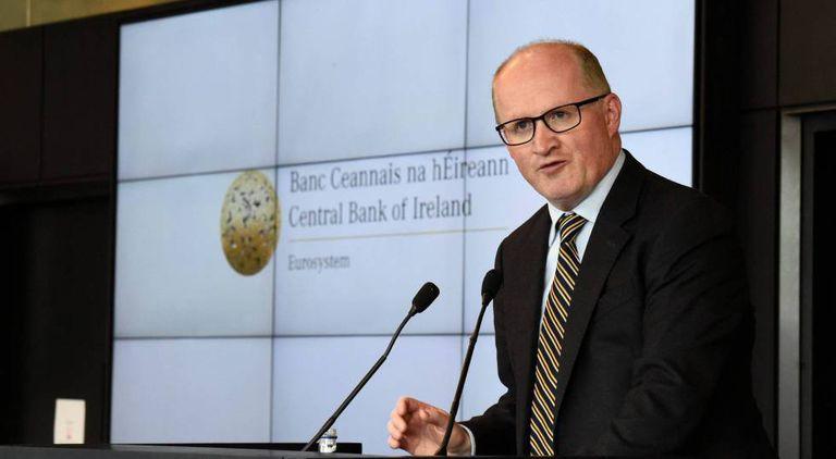 El economista jefe del Banco Central Europeo, Philip R. Lane.