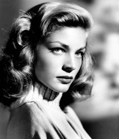 Lauren Bacall en una imagen de 1946.