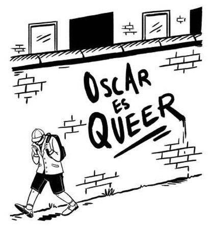 Cómic 'Queer. Una historia gráfica' (Meg-John Barker).