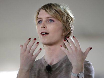 Chelsea Manning, en un acto en Massachussets el pasado septiembre.