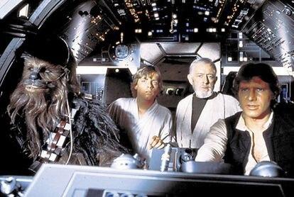 Fotograma de la película 'La guerra de las galaxias'