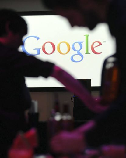 Trabajadores en la sede de Google en Berlín