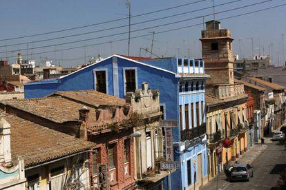 El barrio valenciano de El Cabanyal.