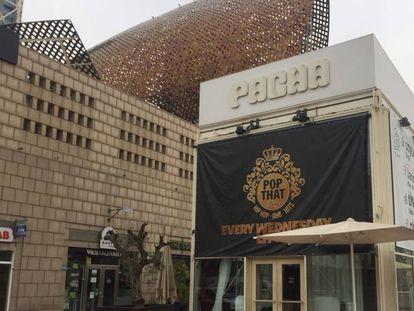 La discoteca Pacha en Barcelona, uno de los locales que Hacienda quiere subastar.