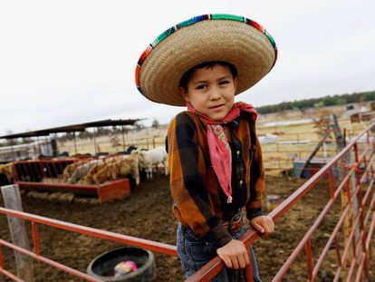 Un niño en un rancho de Chihuahua, al norte de México.