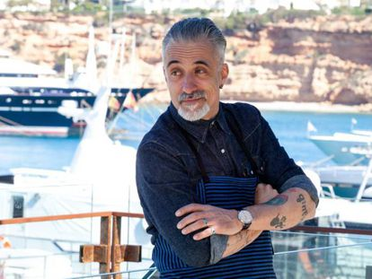 Sergi Arola, este sábado en Port Adriano (Mallorca).