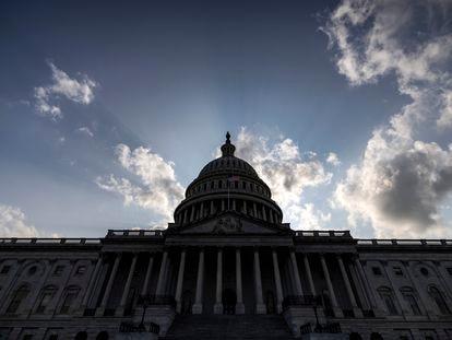 El edificio del Capitolio de EE UU, en Washington, el pasado 1 de agosto.