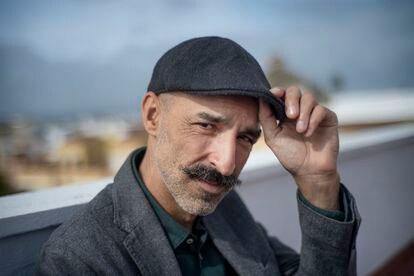 El escritor Jesús Carrasco, en Sevilla, el pasado miércoles.