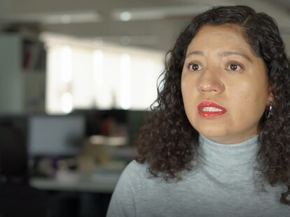 La jefa de redacción de EL PAÍS México, Sonia Corona.