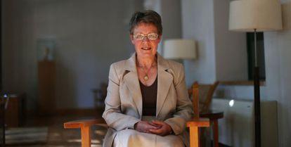 Jocelyn Bell en la Residencia de Estudiantes del CSIC