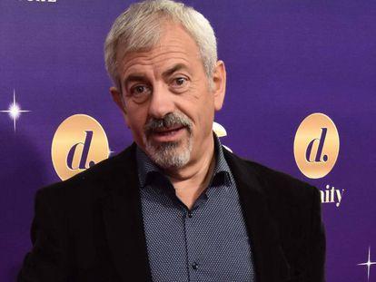 El presentador Carlos Sobera, en Madrid, el pasado octubre.