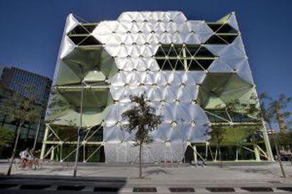 Edificio Mediatic, en el distrito barcelonés del 22@.
