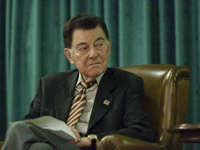 Francisco J. Ayala, en una foto de archivo.