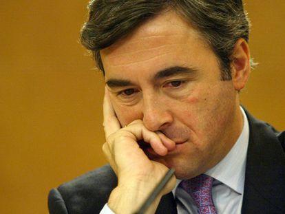 El ex secretario general del PP Ángel Acebes, en una imagen de 2003.