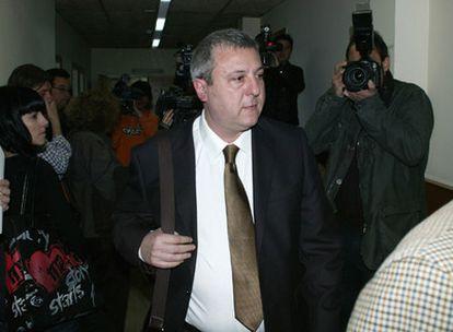 El doctor Marcos Ariel Hourmann, en la sala de juicio de la Audiencia de Tarragona.
