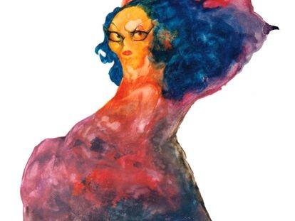 Lola Flores vista por Sciammarella.