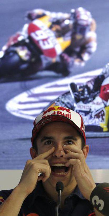 Márquez, en rueda de prensa