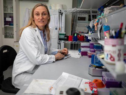 La científica e investigadora Marta Cuadros, en Granada.