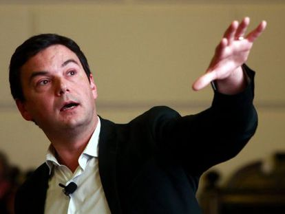 El profesor y economista francés Thomas Piketty.