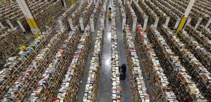 Empleados de Amazon, en las instalaciones de la empresa en Phoenix.